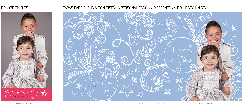 recordatorios albums personalizados y diseño creativo