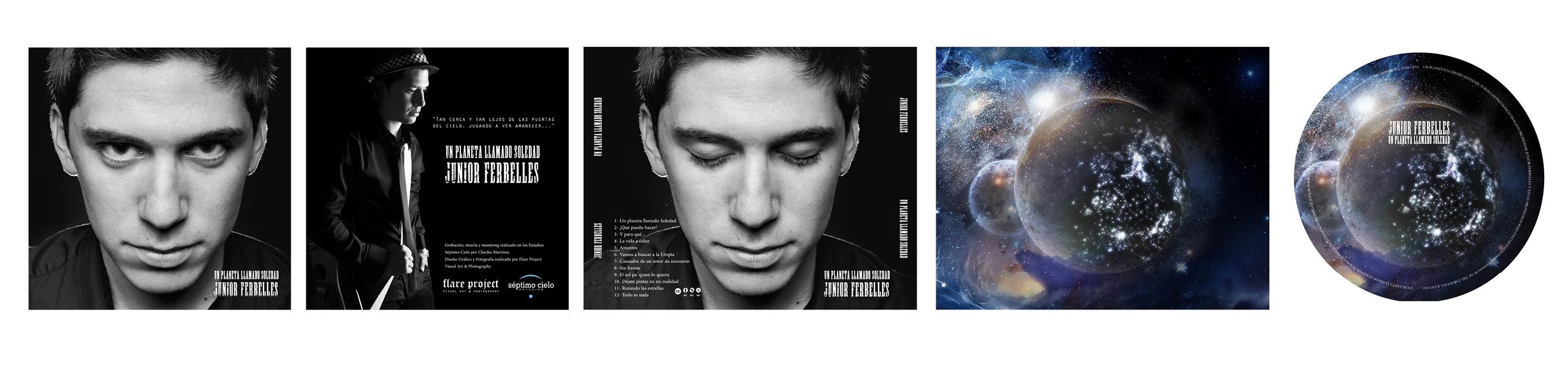 FOTOGRAFÍA Y DISEÑO DE CDS MUSICALES